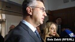 Premijer Hrvatske Plenković i pokretačica Inicijative Spasi me Jelena Veljača