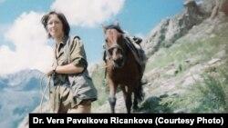 Czech researcher Vera Pavelkova Ricankova