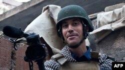Американский журналист Джеймс Фоули, убитый в Сирии