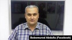Журналист Бобомурод Абдуллаев.
