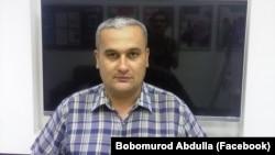 Ташкентский журналист Бобомурод Абдуллаев.