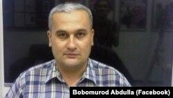 Өзбекстандық тәуелсіз журналист Бобомурод Абдуллаев.