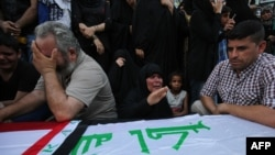 Sahrana žrtava napada 3. jula u Bagdadu