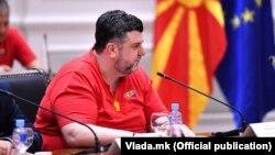 Илустрација - Дарко Димовски, претседател на Сојузот на синдикатите на Македонија