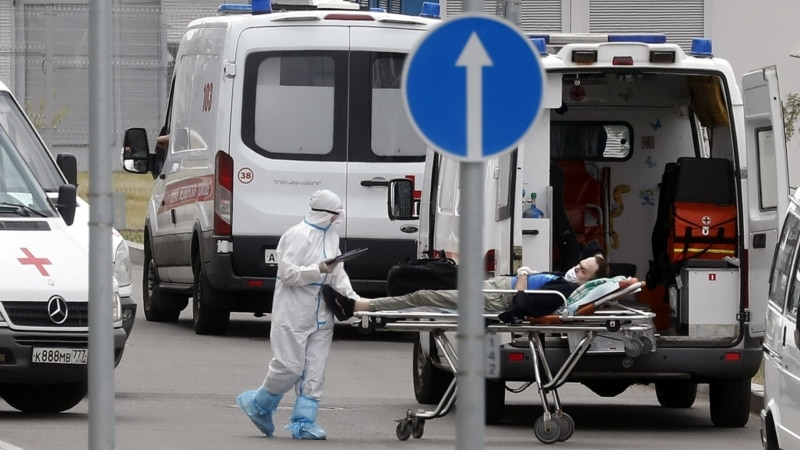 Russia Reports More Record Coronavirus-Linked Deaths, Cases