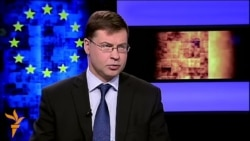 EU's Dombrovskis Warns Of Further Russia Sanctions