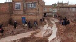 سرازیر شدن سیلاب در ولایت هرات زیانهای مالی برجا گذاشت