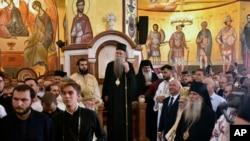 Главата на Сръбската църква в Черна гора митрополит Йоаникий