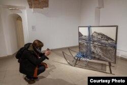 Од изложбата на Мотеска во Национална галерија