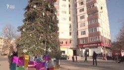 """Арча дар маҳалли қатли """"Бобои барфӣ"""" дар Душанбе"""