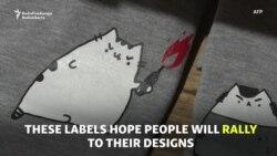 Pret-a-Protest: Russian Demos Inspire Fashion Designs
