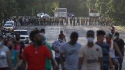 Франция, Греция, Куба: столкновения с полицией и протесты из-за коронавируса