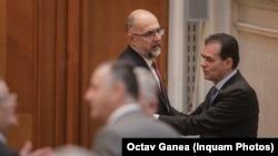 Romania - Liderii PNL și UDMR, Ludovic Orban și Kelemen Hunor