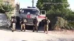 Обшук в Криму: російські силовики біля будинку Марлена Мустафаєва (відео)