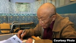 Народный поэт Узбекистана Абдулла Арипов.
