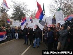 Protestat në Mitrovicë