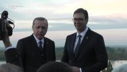 Erdogan i Vučić obišli Kalemegdan