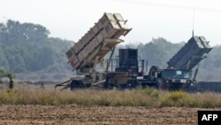Two Patriot missile batteries (file photo)