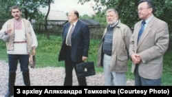 Станіслаў Шушкевіч, Юры Хадыка, Міхаіл Марыніч