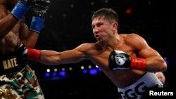 Kazak boxer Gennady Golovkin (file photo)