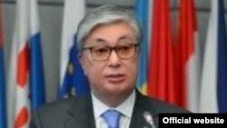 Спикер сената парламента Казахстана Касым-Жомарт Токаев.
