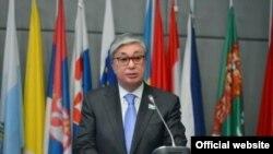 Спикер сената Касым-Жомарт Токаев.