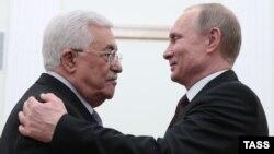 Ռուսաստանի նախագահ Վլադիմիր Պուտինը ընդունում է Պաղեստինի առաջնորդ Մահմուդ Աբբասին, արխիվ