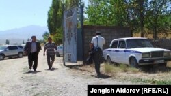 The village of Kara-Bulak, where unknown assailants killed four people from the same family.