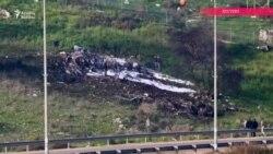 Suriya İsrail təyyarəsinin vurulduğunu bildirir