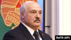 Belarusian leader Alyaksandr Lukashenka
