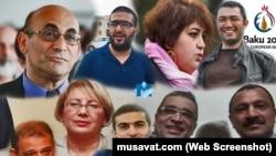 Azərbaycanlı siyasi məhbuslar