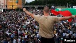 Բուլղարիա - Բողոքի ցույց Սոֆիայի կենտրոնում, հունիս, 2013թ.