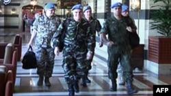 Një grup i vëzhguesve të OKB-së që kanë arritur në Damask të Sirisë