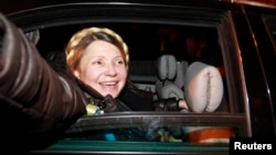 Украина собиқ бош вазири Юлия Тимошенко.