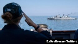 """Учения """"Sea Breeze - 2021"""""""