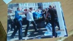 Опозиція Дніпропетровська заявляє про використання спортсменів для перешкоджання мирним акціям