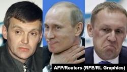 Александр Литвиненко (С), Владимир Путин һәм Андрей Луговой