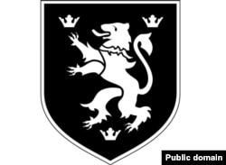 Емблема 14 дивізії Ваффен-СС «Галичина». Галицький «Левик»