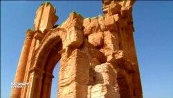 Исламисты взорвали Триумфальную арку в Пальмире