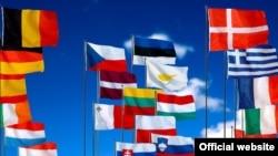 Flamujt e vendeve anëtarë të BE-së