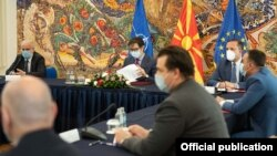 архивска фотографија од седницата на Советот за безбедност,