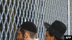 У ограды расстрелянной иешивы