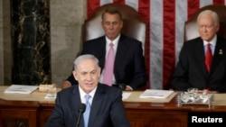 Бенямин Нетаняҳу дар Конгресси Амрико