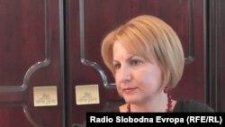 Теута Арифи, градоначалничка на Тетово.