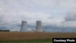 Belaurs — Belarusian nuclear power plant near Astraviec (Ostrovets), 29jul2017
