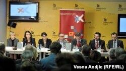 Sa konferencije za medije, Beograd, 3. mart 2016.