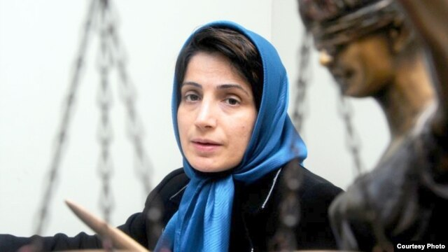 Nasrin Sotoudeh defended political activists, opposition members, and juvenile offenders on death row before she was jailed in September 2010.