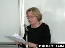 Мадлена Норбэрг зь Нямеччыны распавядае пра ніжнелужыцкую мову