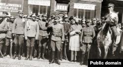 Польські офіцери. 1919 рік