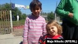 Romska djeca u naselju kod Tuzle